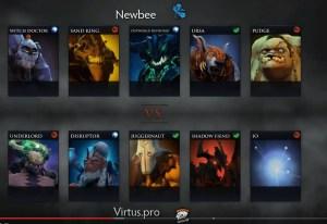 Newbee v VP game 2 recap