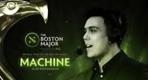 Host of the Boston Major - Machine