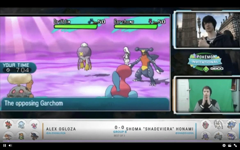 Shoma vs Alex Ogloza in ONOG Pokémon Invitational by GEICOGaming