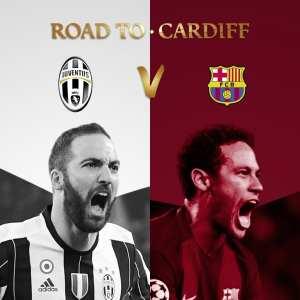 Champions League Quarter-Finals Juventus v Barceclona