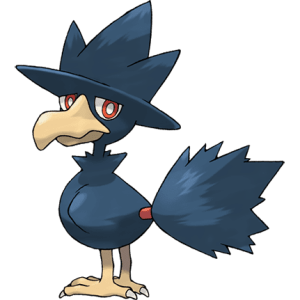 Portrait of Pokémon Murkrow