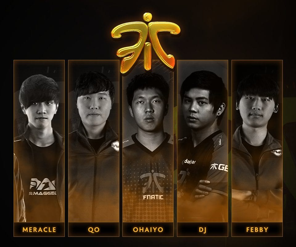 Fnatic's New Roster Announcement