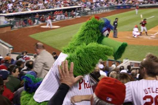 Philadelphia Phillies mascot, Phillie Phanatic