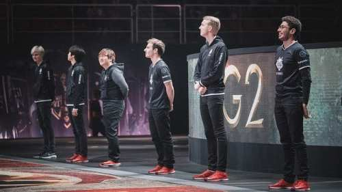 G2 finished MSI in second place