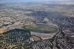 The land around Belmont Park could be used for an Islanders arena