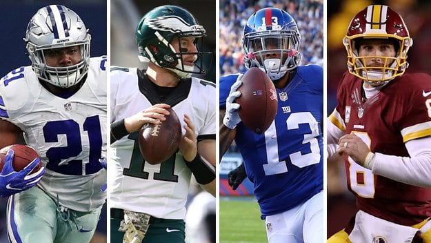 2017 NFC East division