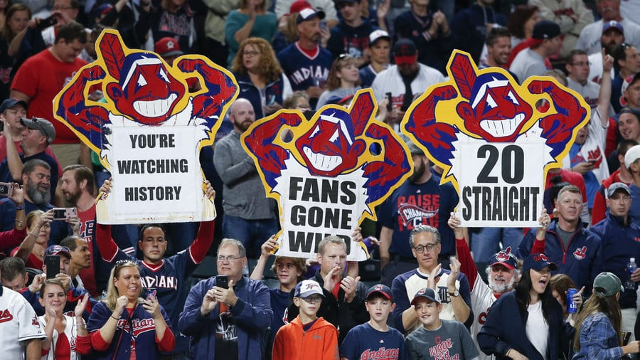 Cleveland Indians playoffs