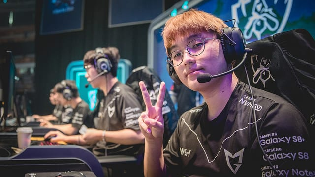 SSG's CoreJJ was the most OP support in week two of worlds