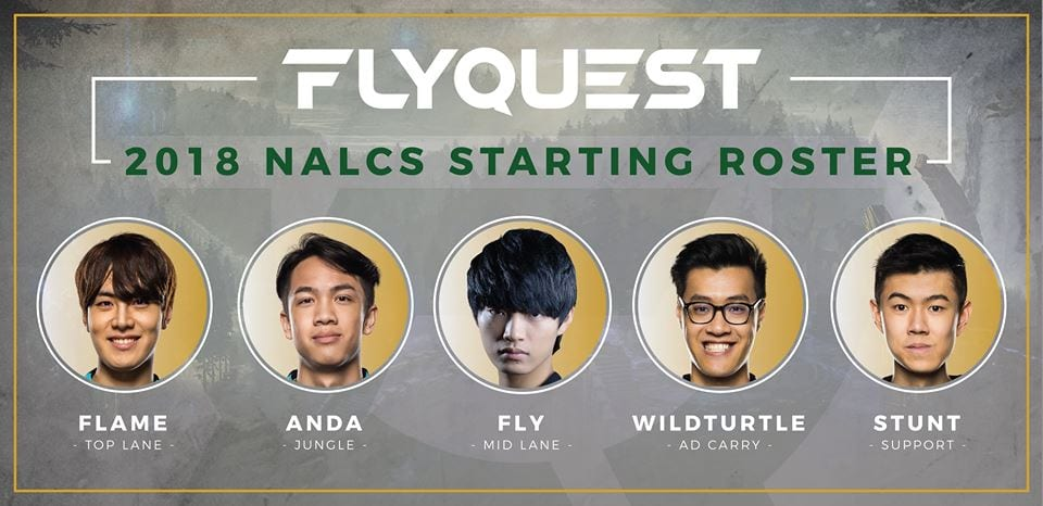 FlyQuest secured a franchise slot for 2018