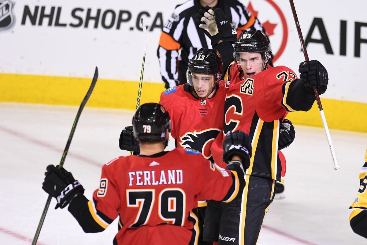 Avalance Flames 9-game streak