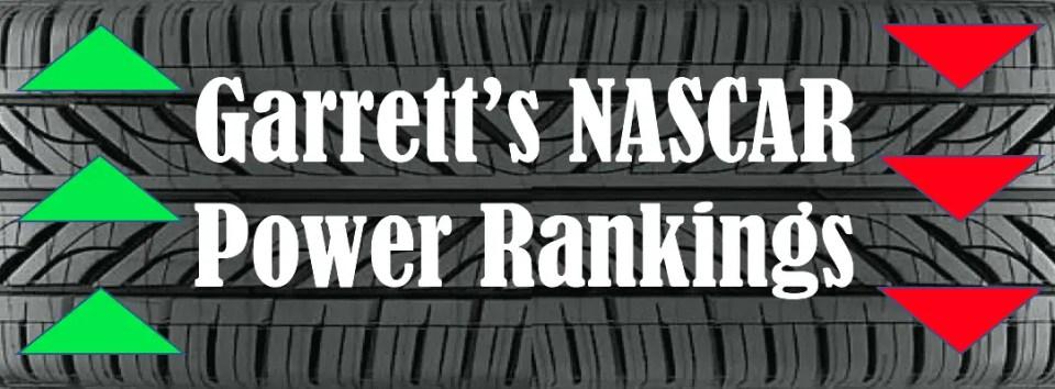 NASCAR power rankings