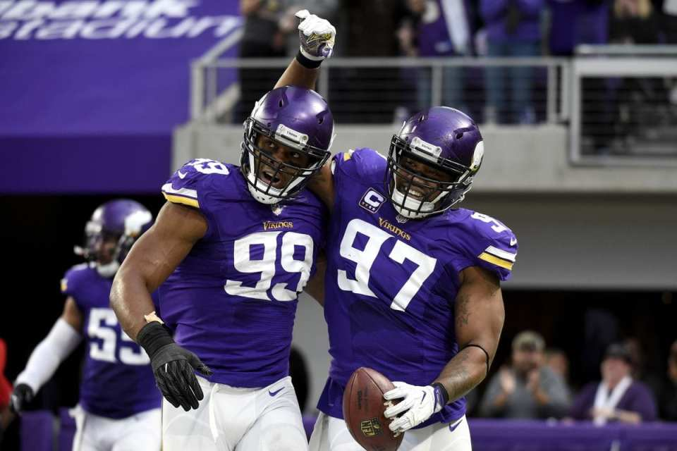 Minnesota Vikings' defensive line