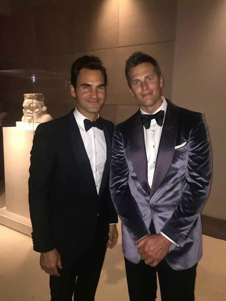Roger Federer Tom Brady