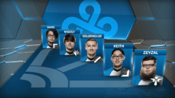 Cloud9 finish the regular season Academy League in second place