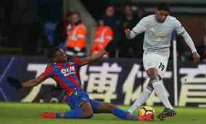 Nemanja Matić's world-class strike completes a 3-2 comeback victory for Manchester United over Crystal Palace
