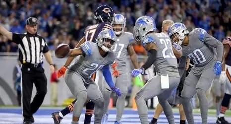 Detroit Lions defensive backs
