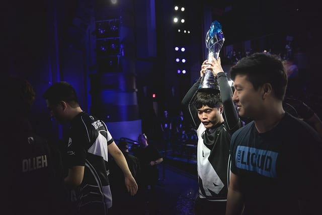 Team Liquid won the 2018 NA LCS Spring Split finals against 100 Thieves