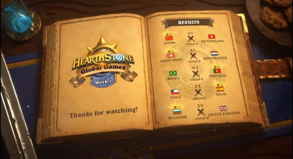 Hearthstone Global Games Week 8