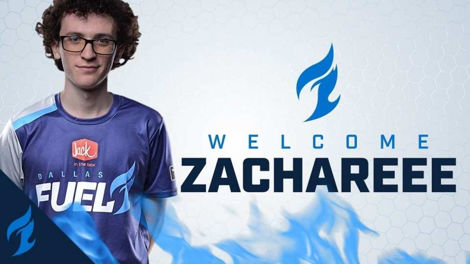 ZachaREEE signed to Dallas Fuel