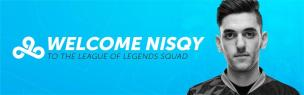 Cloud9 added Nisqy for 2019