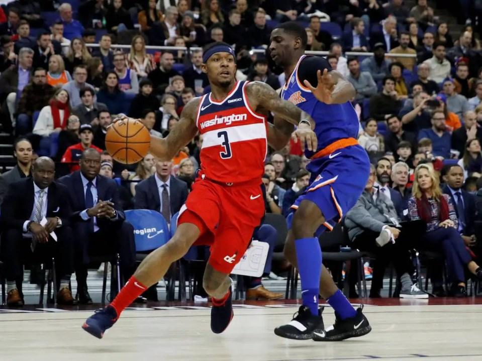 Wizards Beat Knicks in London