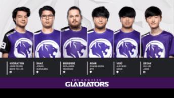 Los Angeles Gladiators Player Ratings