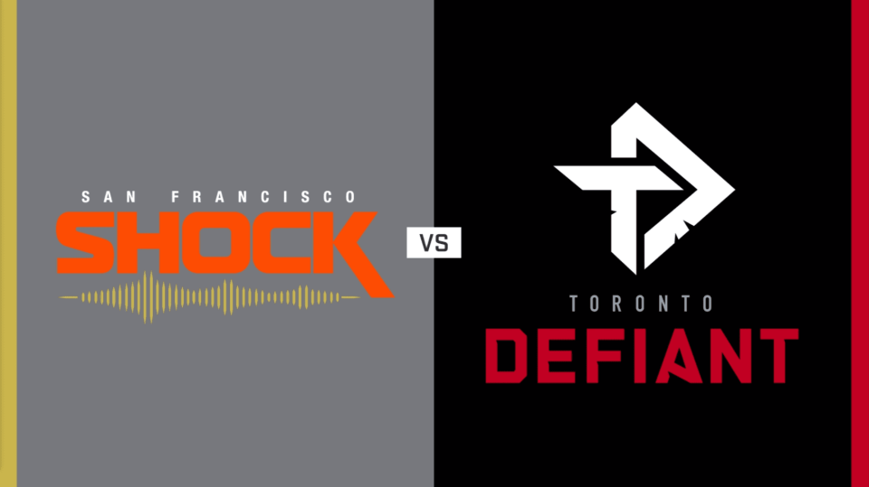 Toronto Defiant vs. San Francisco Shock