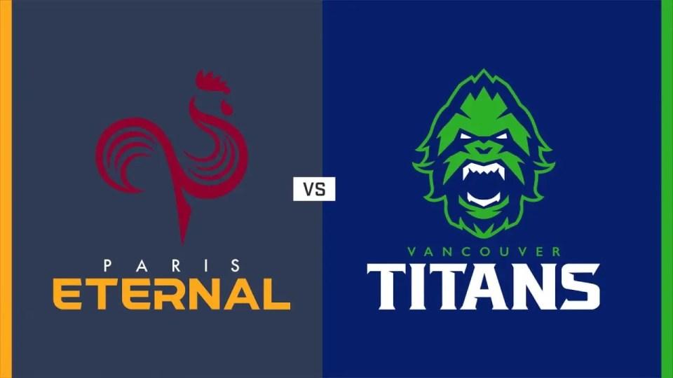Vancouver Titans vs Paris Eternal