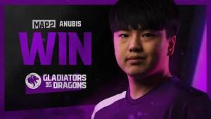 Los Angeles Gladiators vs Shanghai Dragons