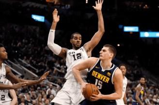 San Antonio Spurs-Denver Nuggets-NBA First Round-NBA Playoffs