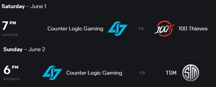 Image from watch.lolesports.com/schedule