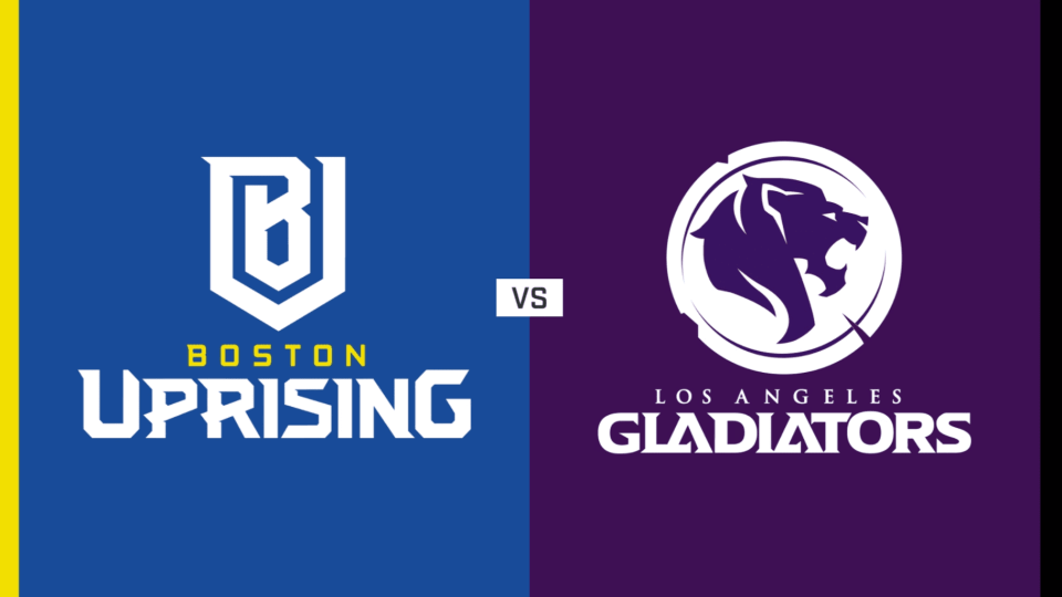 Overwatch League Recap Los Angeles Gladiators Vs Boston Uprising