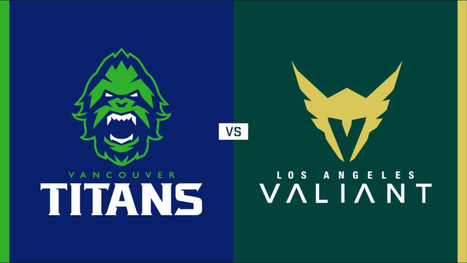 Vancouver Titans vs Los Angeles Valiant