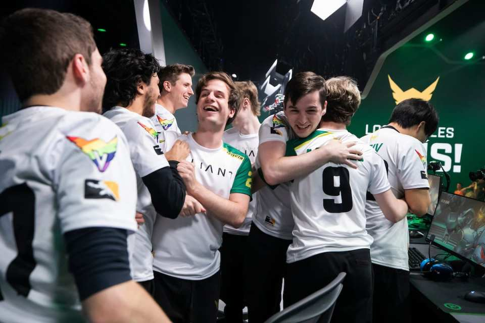Paris Eternal, Los Angeles Valiant,