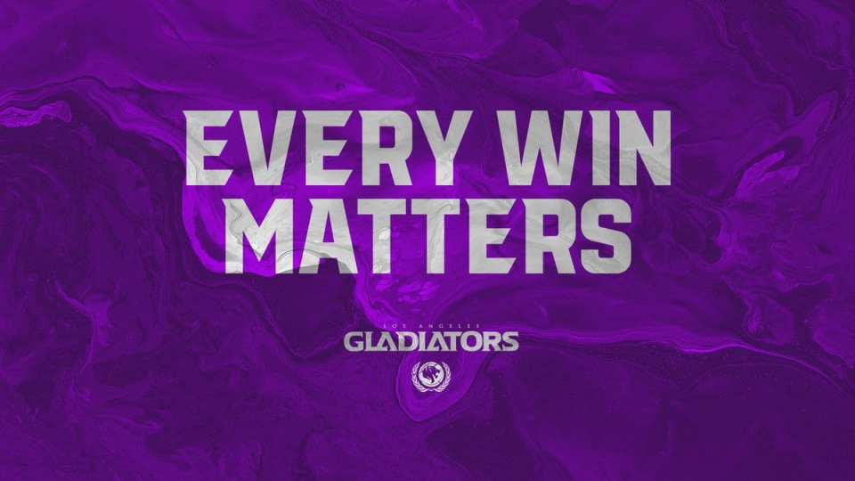 Los Angeles Gladiators 2-2-2 Role Lock