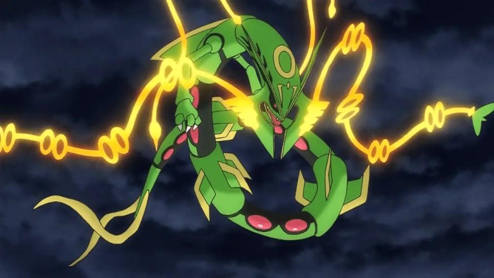 Mega Rayquaza Pokemon VGC