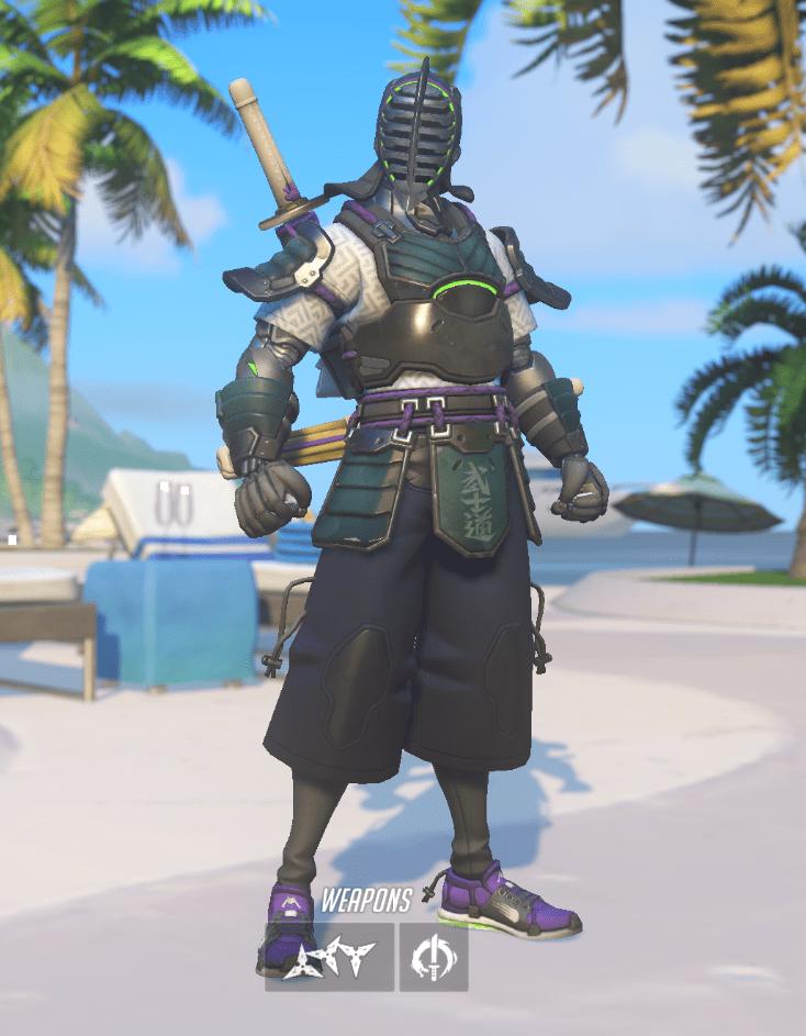 OW Summer Games 2019 skins