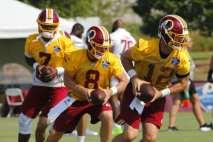 Case Keenum announced as the Washington Redskins' week 1 starter.