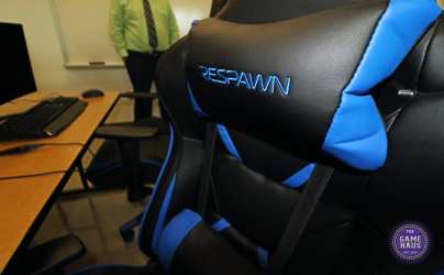 The LCHS esports lab also has professional gaming chairs (photo by Love Marketing Agency).