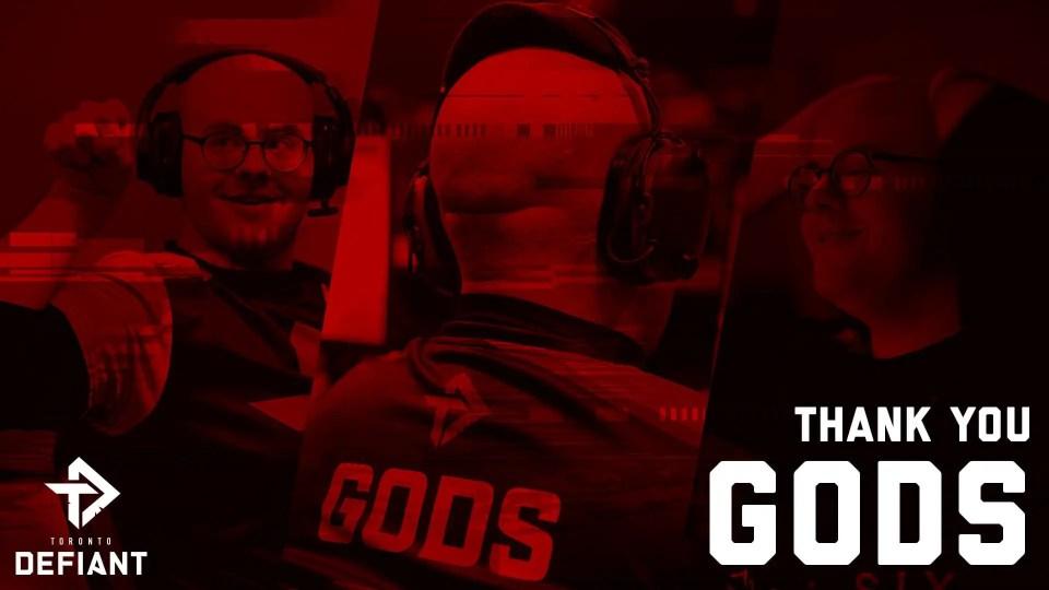 BREAKING: Toronto Defiant Releases Gods