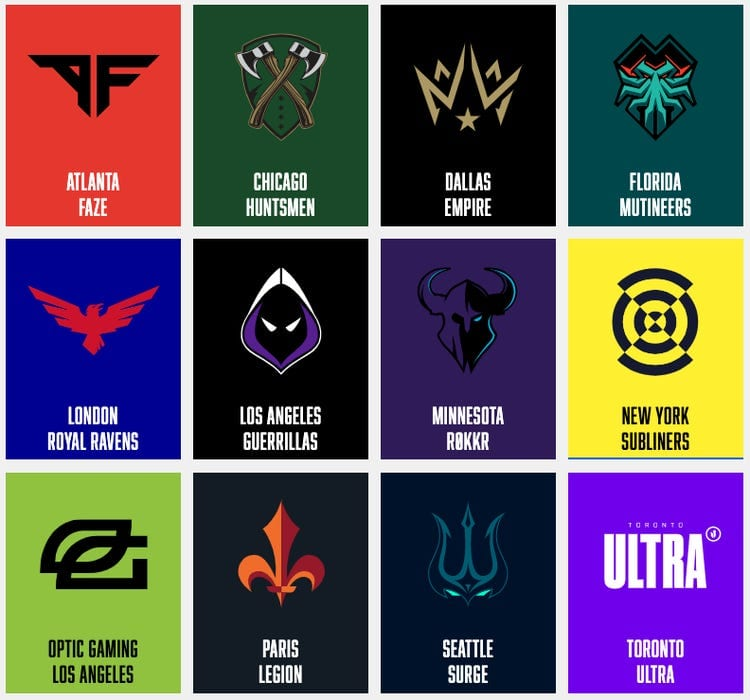 Call of Duty League Power Rankings