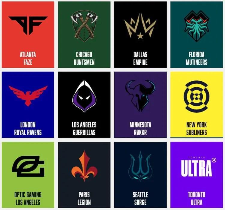 Call Of Duty League Power Rankings Preseason