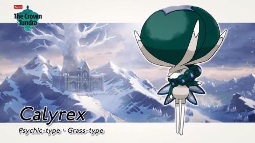 Legendary Pokemon Calyrex