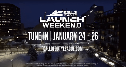 Call of Duty Launch Weekend, January 24-26