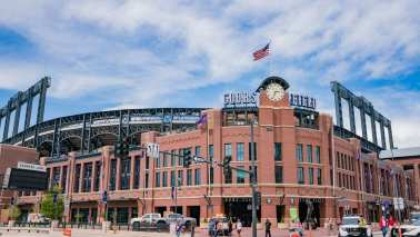 Coors Field park-adjusted stats