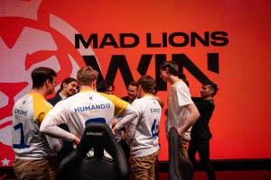 MAD Lions after a win