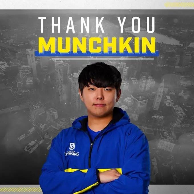 Munchkin Leaves Boston