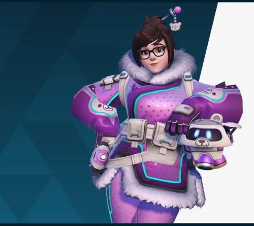 Snow Bear Mei Overwatch Archives