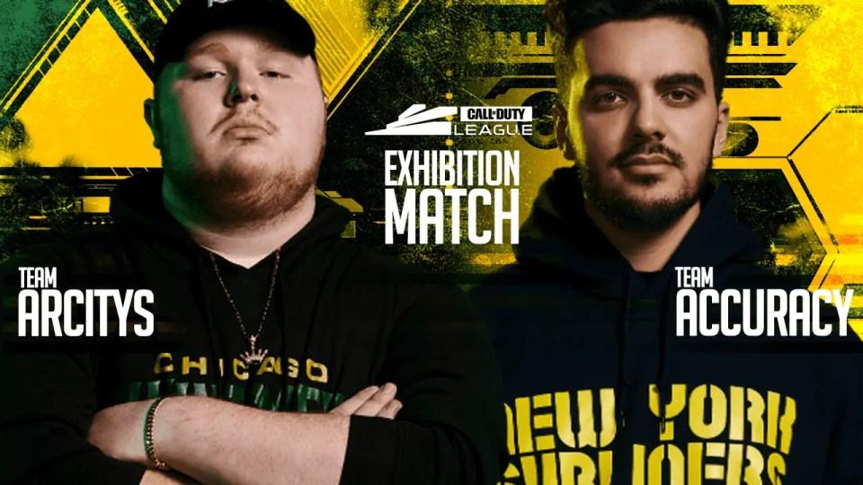 Team Arcitys vs Team Accuracy Exhibition Match