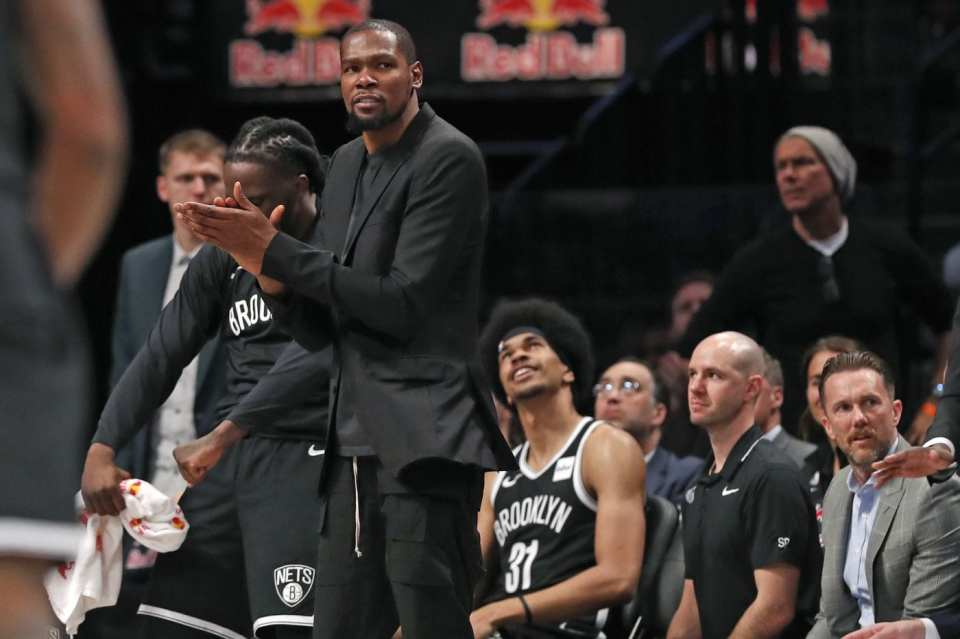 Kevin Durant Tests Positive for Covid-19